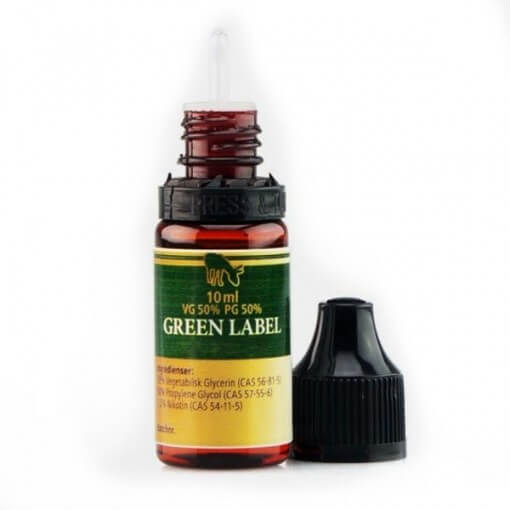 Pink Mule Nicotine Booster Green Label 50/50 10ml 20mg