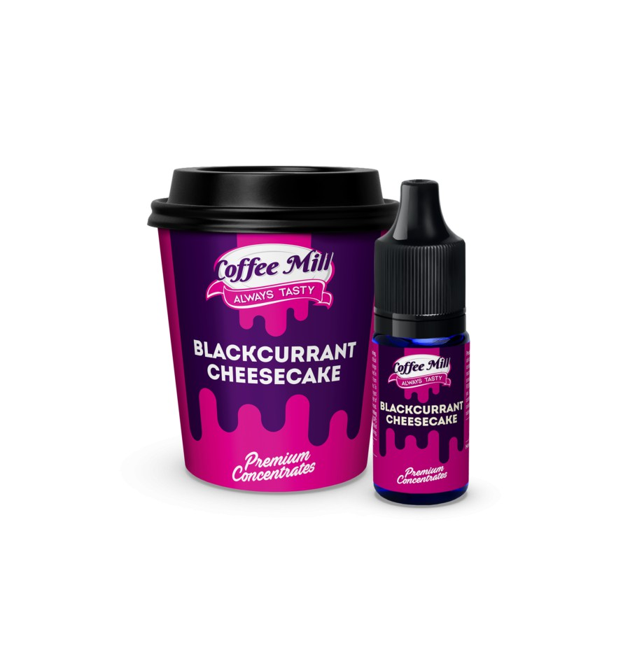 Coffee Mill Blackcurrant Cheesecake Flavor